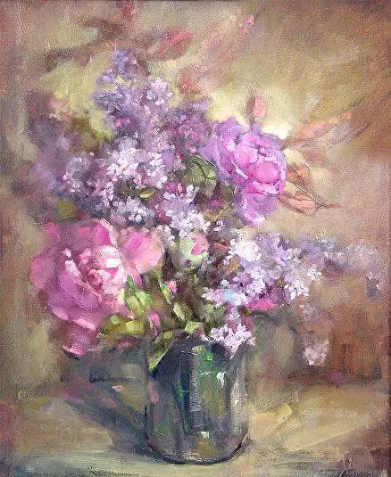 美国女画家Bardara.Schilling静物花卉插图72