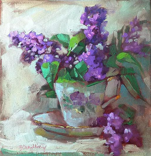 美国女画家Bardara.Schilling静物花卉插图74