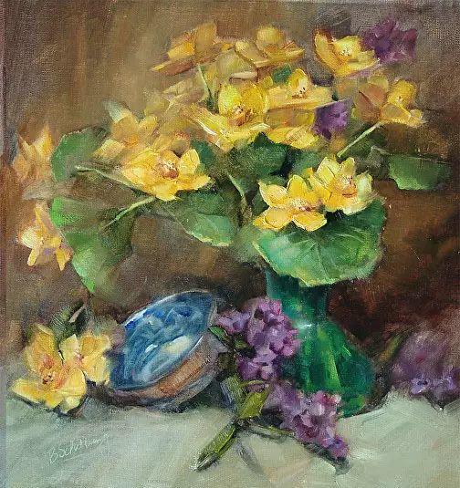 美国女画家Bardara.Schilling静物花卉插图76