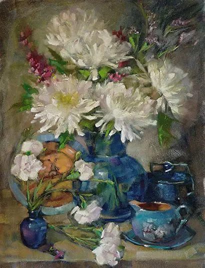 美国女画家Bardara.Schilling静物花卉插图80