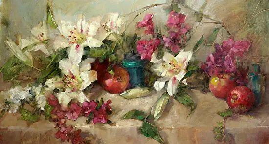 美国女画家Bardara.Schilling静物花卉插图82
