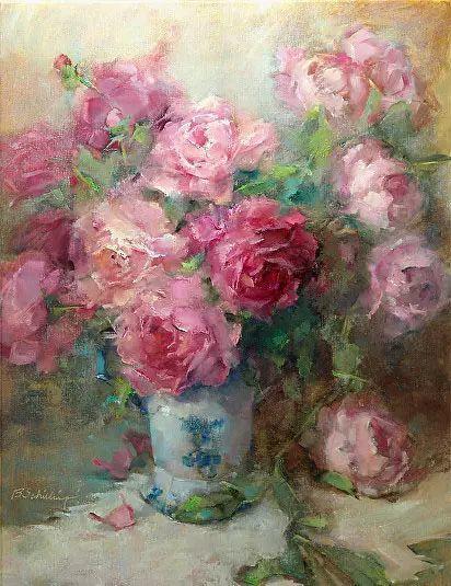 美国女画家Bardara.Schilling静物花卉插图84