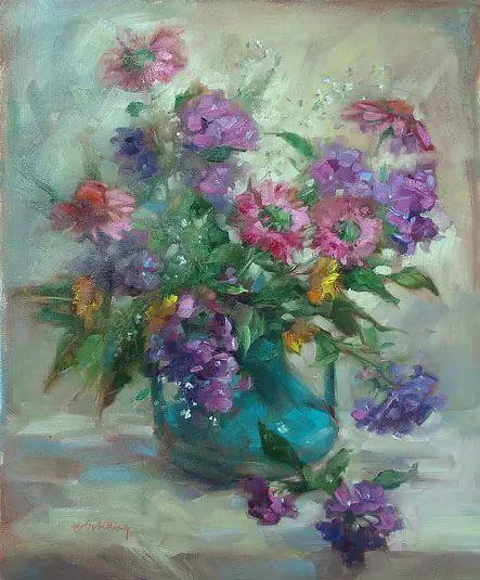 美国女画家Bardara.Schilling静物花卉插图86
