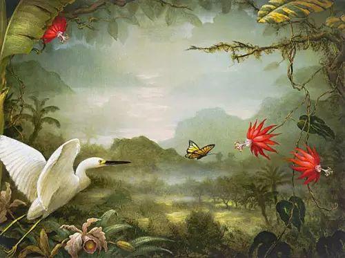 以鹤为题材的油画|Kevin Sloan插图9