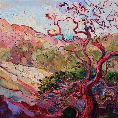 印象多彩景观|美国画家Erin Hanson插图15