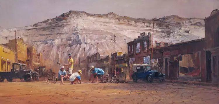 牛仔豪情奔放|澳大利亚Robert Hagan作品插图13
