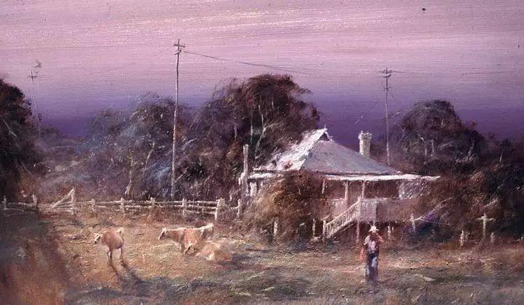 牛仔豪情奔放|澳大利亚Robert Hagan作品插图19