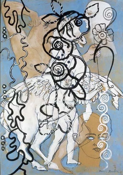 达达主义 法国前卫画家Francis Picabia(1879-1953)插图19