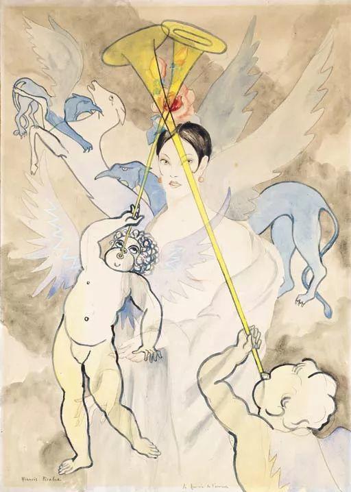 达达主义 法国前卫画家Francis Picabia(1879-1953)插图21