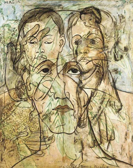达达主义 法国前卫画家Francis Picabia(1879-1953)插图29