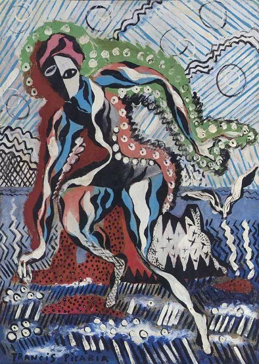 达达主义 法国前卫画家Francis Picabia(1879-1953)插图37