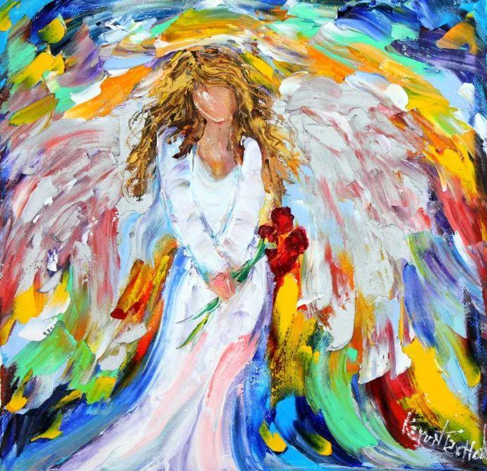 浪漫的风景油画 美国画家凯伦·塔尔顿作品插图11