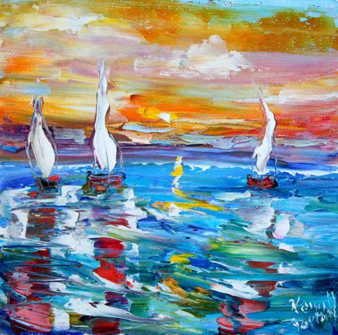 浪漫的风景油画 美国画家凯伦·塔尔顿作品插图13