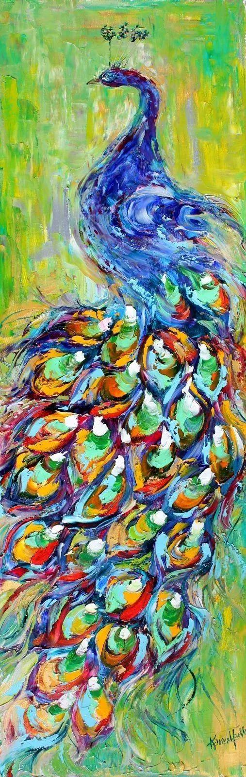 浪漫的风景油画 美国画家凯伦·塔尔顿作品插图19