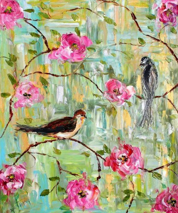 浪漫的风景油画 美国画家凯伦·塔尔顿作品插图21