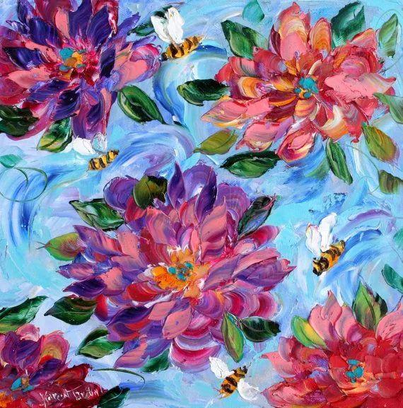 浪漫的风景油画 美国画家凯伦·塔尔顿作品插图29