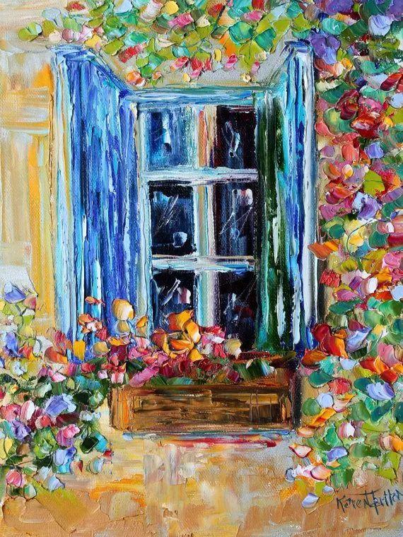 浪漫的风景油画 美国画家凯伦·塔尔顿作品插图37