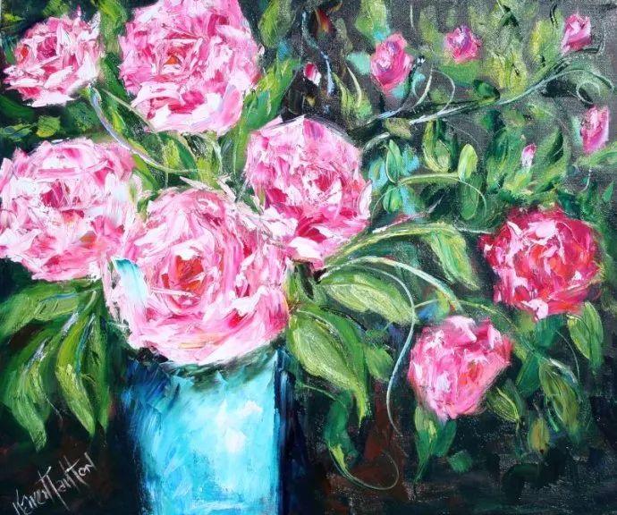 浪漫的风景油画 美国画家凯伦·塔尔顿作品插图41