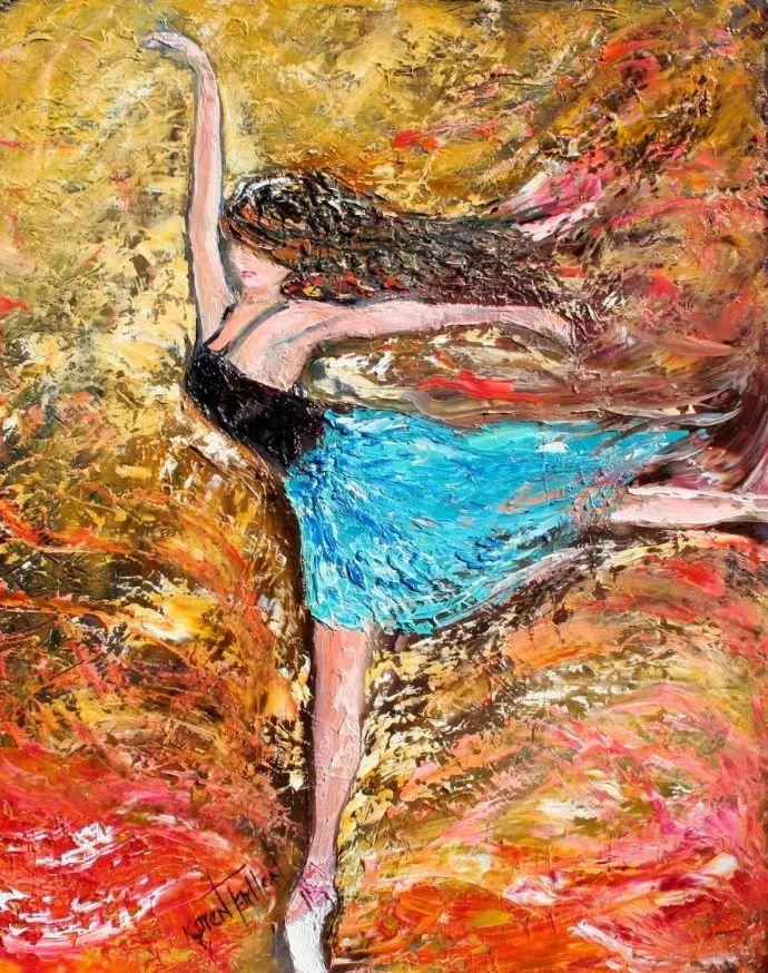 浪漫的风景油画 美国画家凯伦·塔尔顿作品插图47