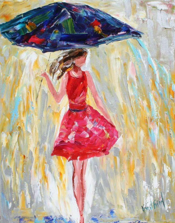 浪漫的风景油画 美国画家凯伦·塔尔顿作品插图49