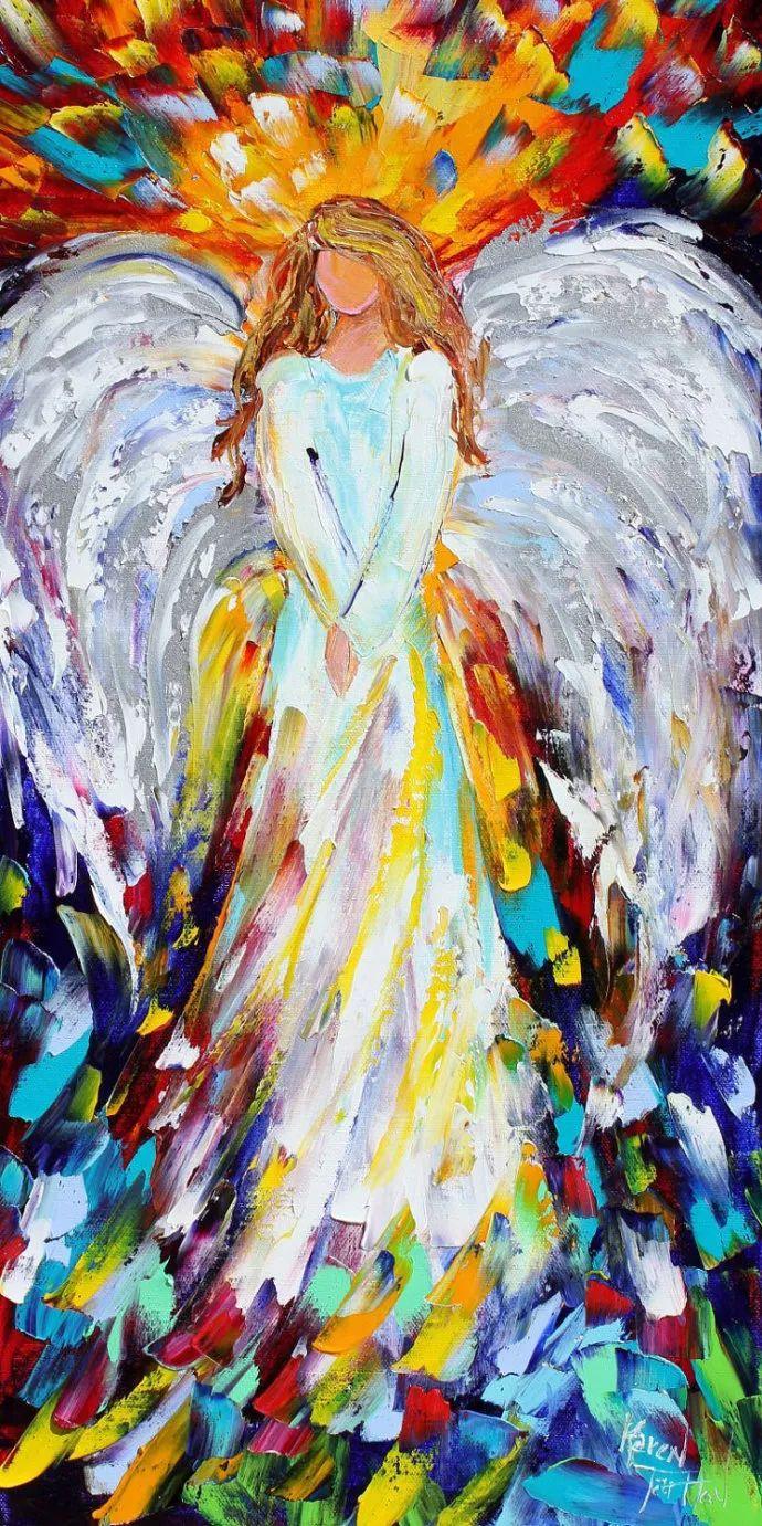 浪漫的风景油画 美国画家凯伦·塔尔顿作品插图53