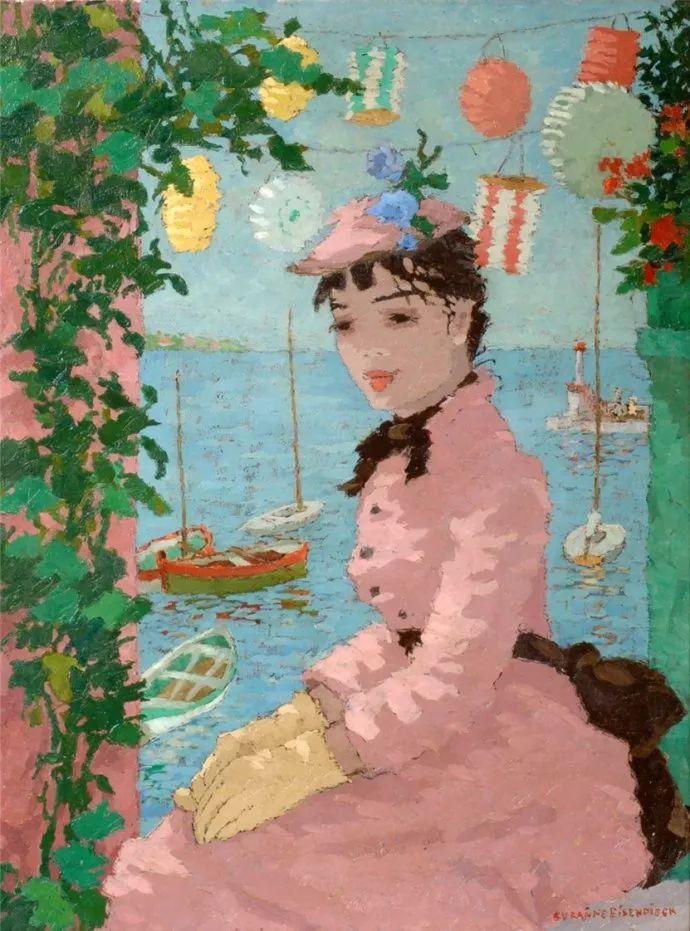 法国画家Suzanne Eisendieck(1908–1998)插图11