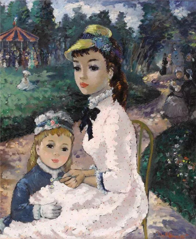法国画家Suzanne Eisendieck(1908–1998)插图23