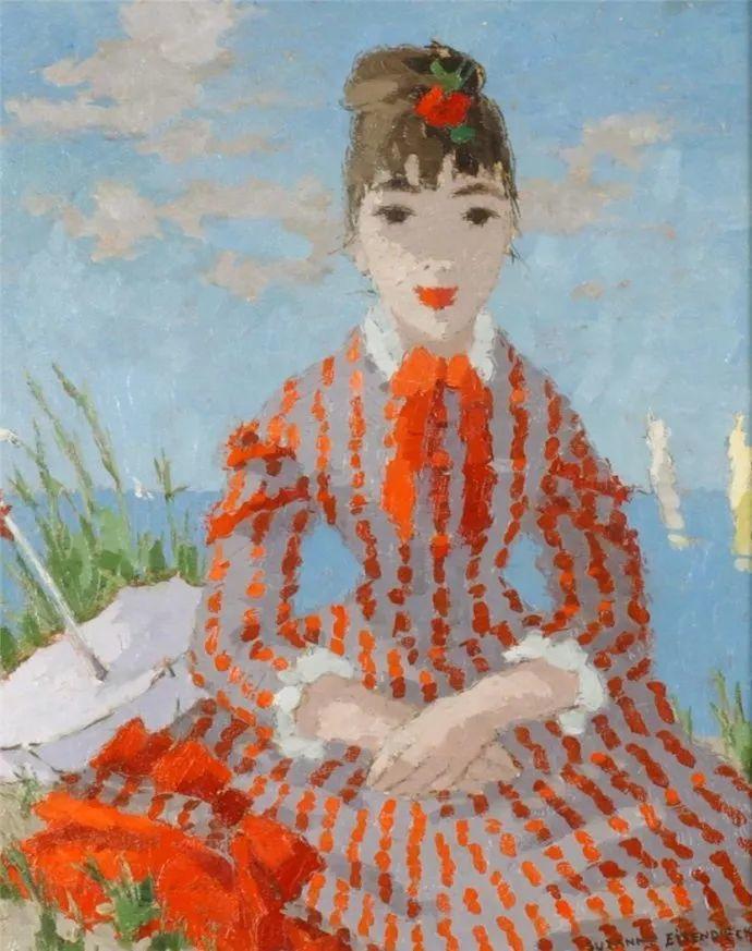 法国画家Suzanne Eisendieck(1908–1998)插图25