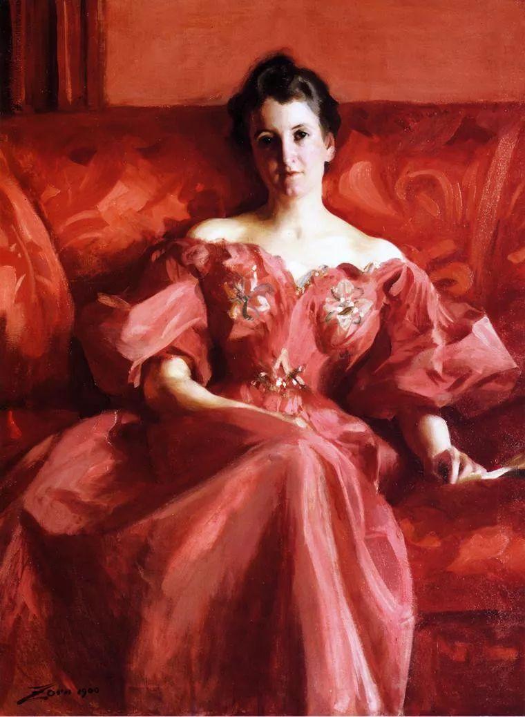 当代女性绘画 比利时画家Alfred Stevens作品插图27