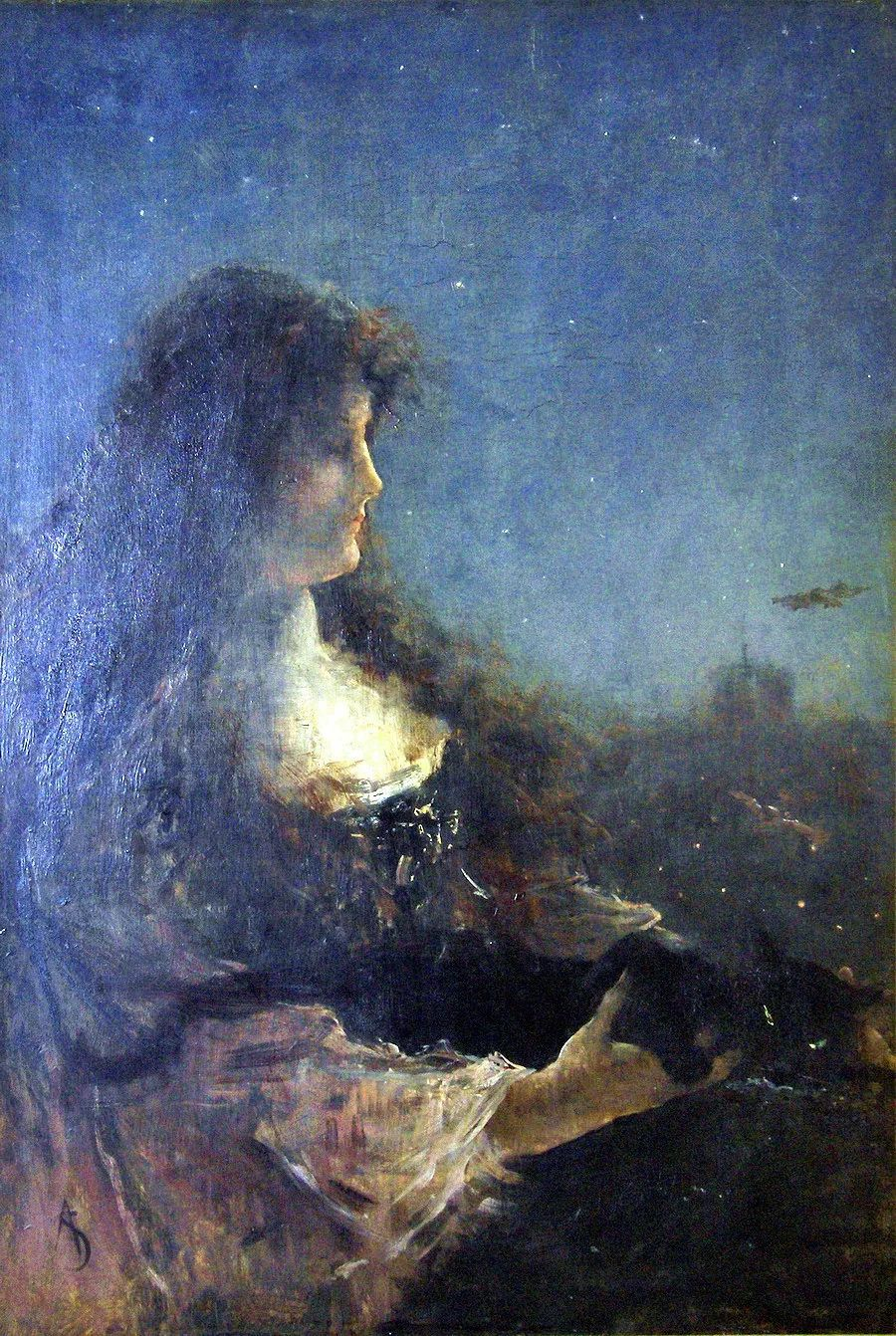 当代女性绘画 比利时画家Alfred Stevens作品插图33