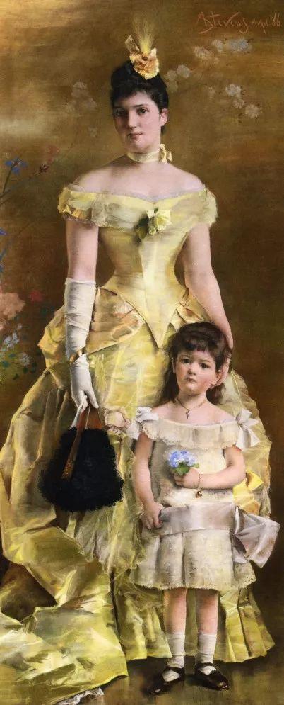 当代女性绘画 比利时画家Alfred Stevens作品插图41