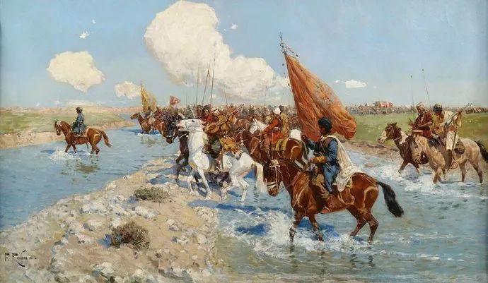 俄罗斯画家Frants Roubaud (1856-1928)插图5