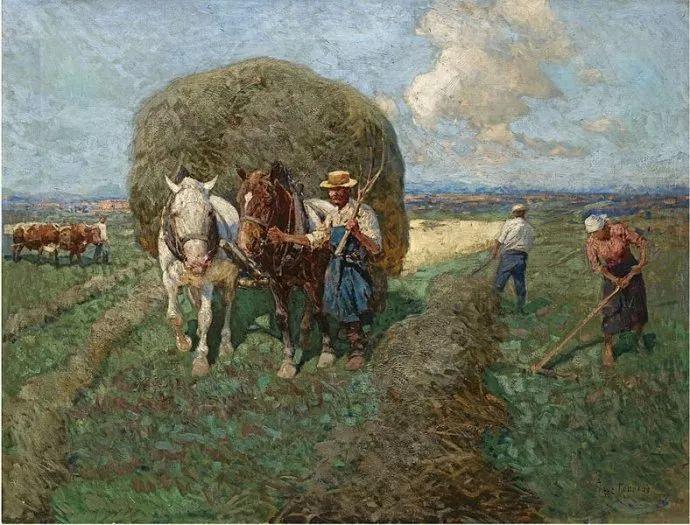 俄罗斯画家Frants Roubaud (1856-1928)插图11
