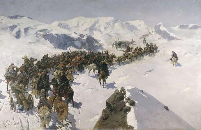 俄罗斯画家Frants Roubaud (1856-1928)插图13