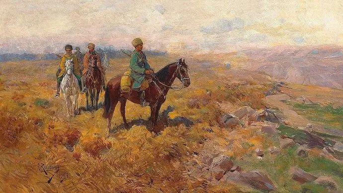 俄罗斯画家Frants Roubaud (1856-1928)插图15