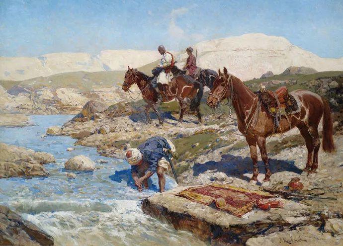 俄罗斯画家Frants Roubaud (1856-1928)插图17