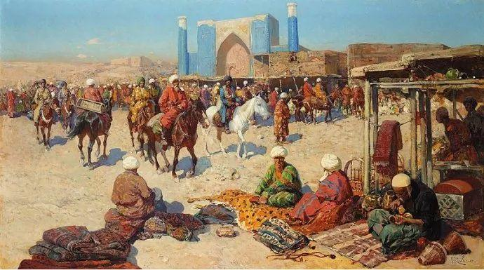俄罗斯画家Frants Roubaud (1856-1928)插图19