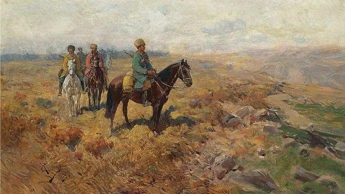 俄罗斯画家Frants Roubaud (1856-1928)插图21