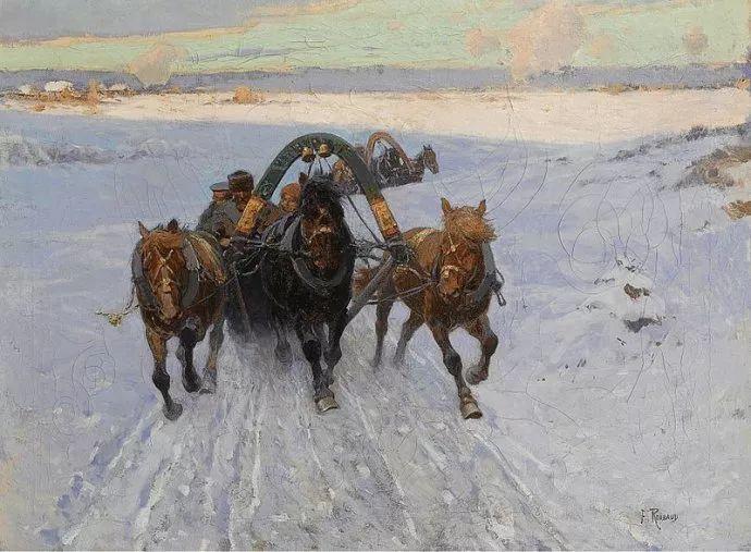 俄罗斯画家Frants Roubaud (1856-1928)插图23