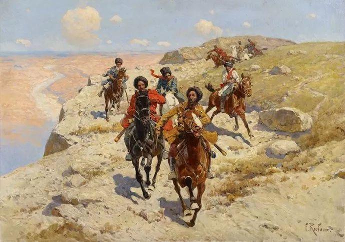 俄罗斯画家Frants Roubaud (1856-1928)插图29