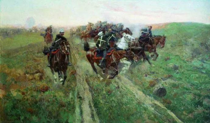 俄罗斯画家Frants Roubaud (1856-1928)插图33