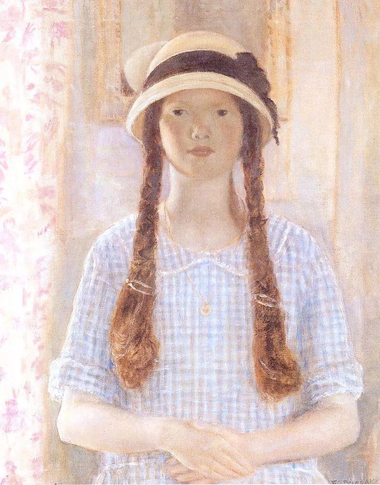 阳光下的女孩 美国画家Frederick Carl Frieseke作品插图19