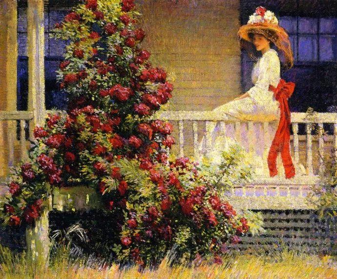 印象派 美国艺术家Philip Leslie Hale (1865~1931)插图1