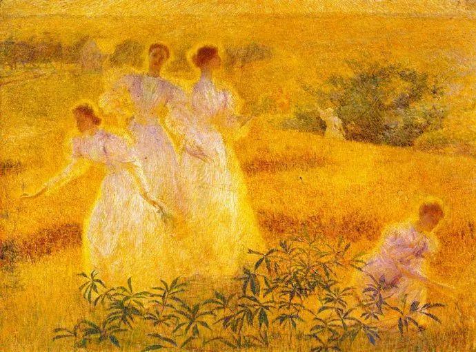 印象派 美国艺术家Philip Leslie Hale (1865~1931)插图7