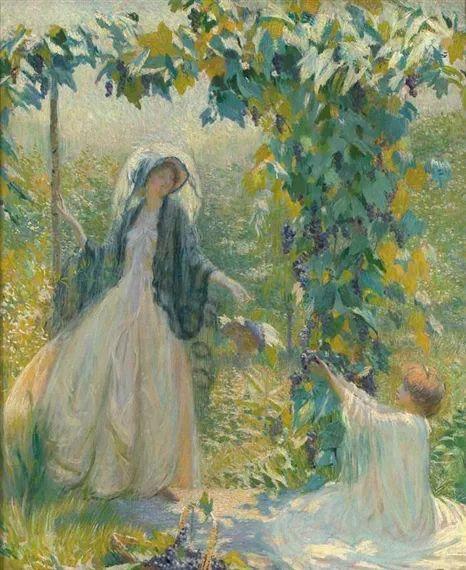 印象派 美国艺术家Philip Leslie Hale (1865~1931)插图11