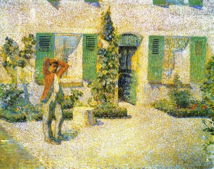 印象派 美国艺术家Philip Leslie Hale (1865~1931)插图13