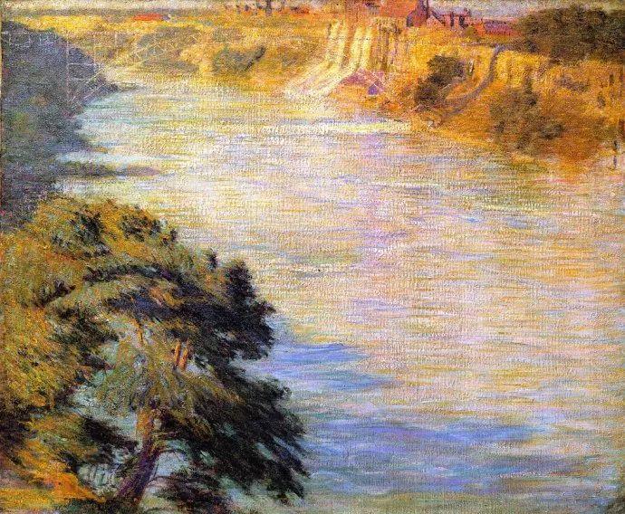 印象派 美国艺术家Philip Leslie Hale (1865~1931)插图21