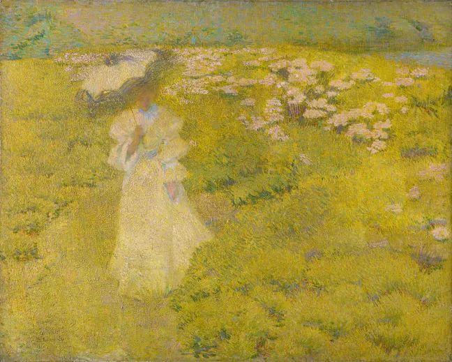 印象派 美国艺术家Philip Leslie Hale (1865~1931)插图25