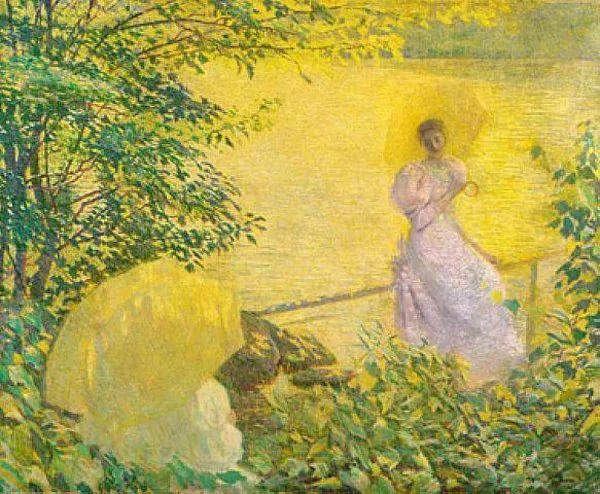 印象派 美国艺术家Philip Leslie Hale (1865~1931)插图27