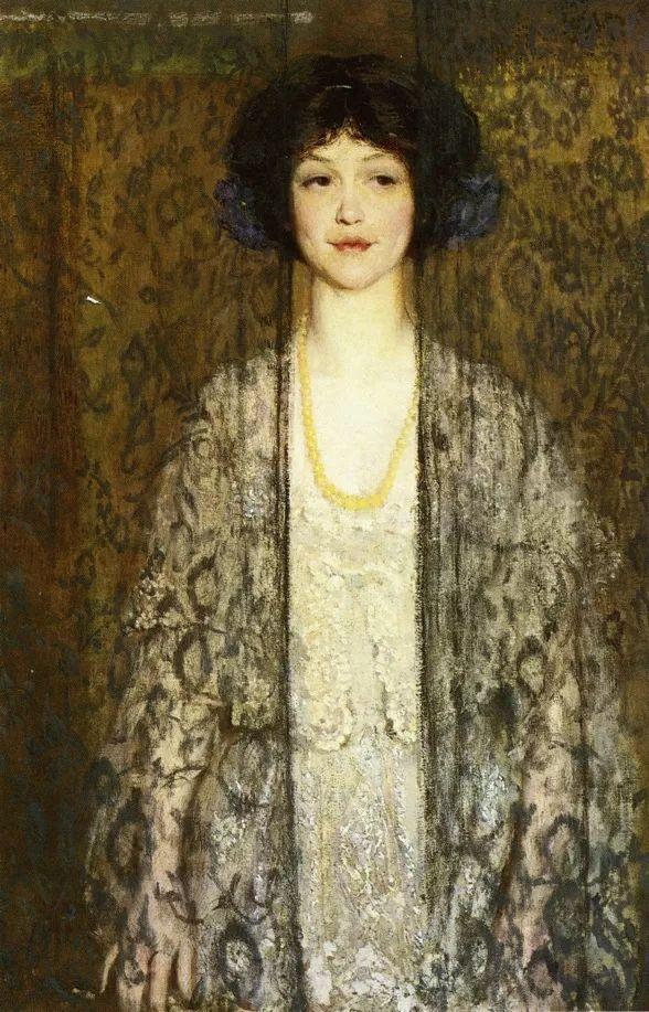 印象派 美国艺术家Philip Leslie Hale (1865~1931)插图31